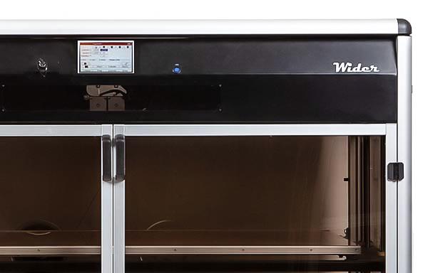 stampante 3D grandi dimensioni Wider controllo da remoto wifi