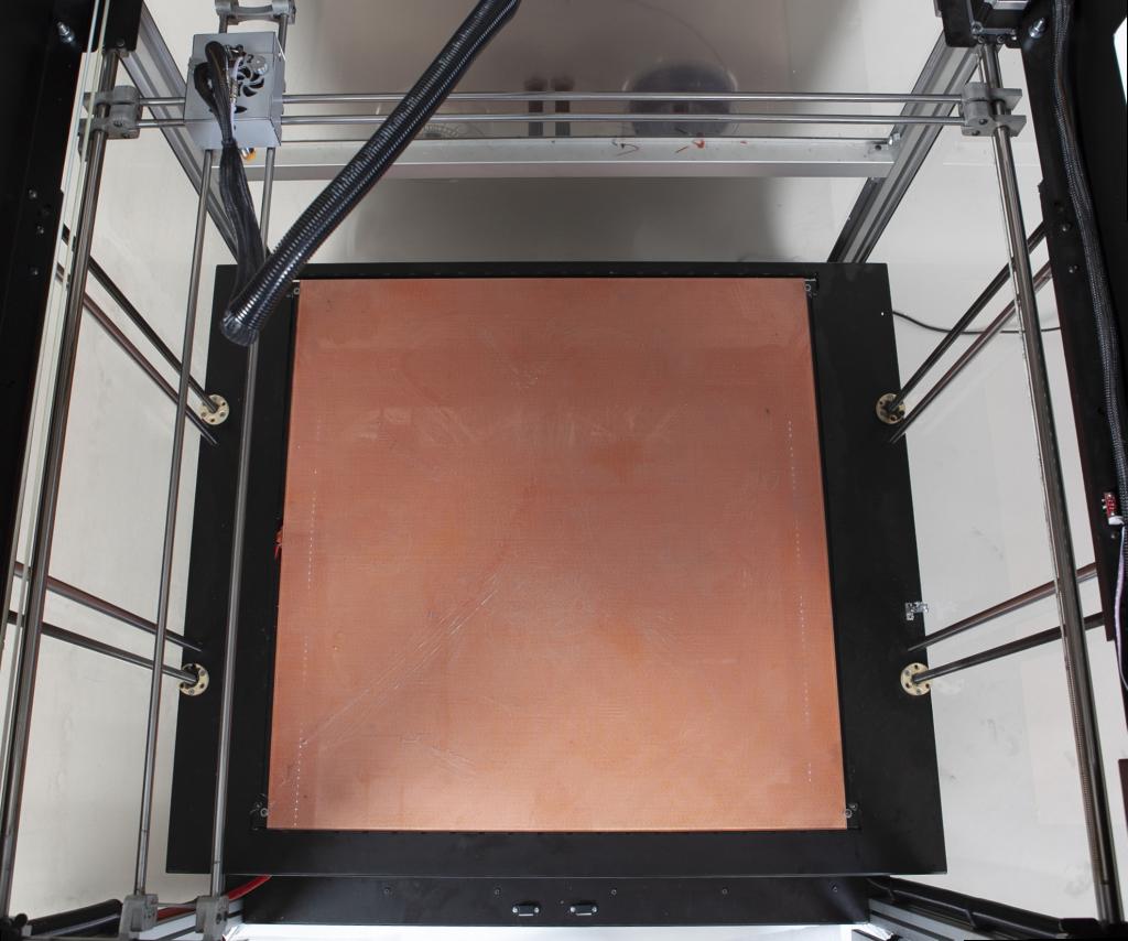 area di stampa stampante 3d grande formato pivotmaker
